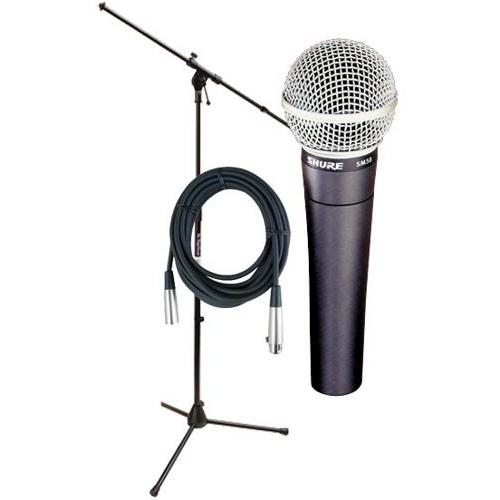Shure SM58 Microphone Package