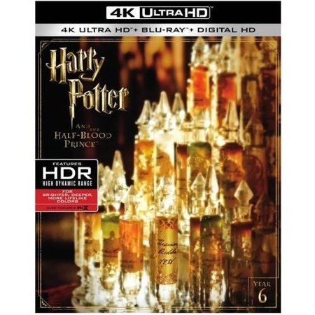Harry Potter And The Half Blood Prince  4K Ultra Hd   Blu Ray   Digital