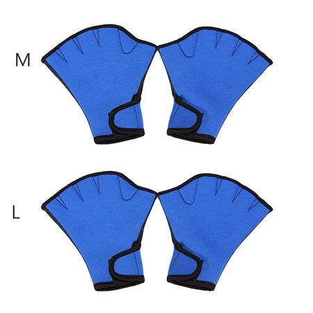 Webbed Paddle Glove, ,Freehawk Neoprene Aqua Fit Swim Training Gloves