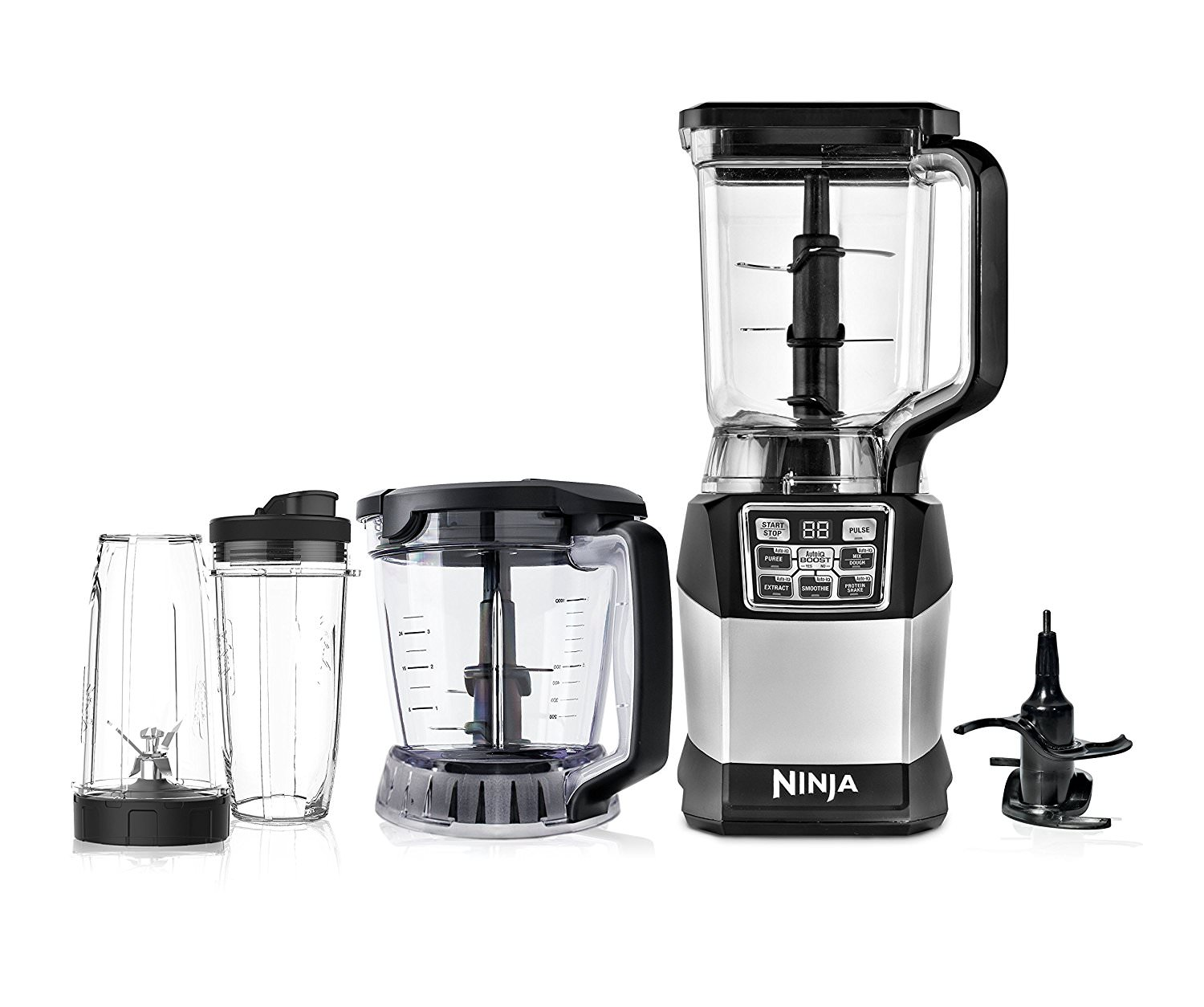 Ninja Kitchen System with Auto-iQ Boost - Walmart.com