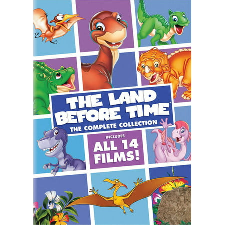 The Land Before Time: The Complete Collection (DVD) - Halloween Complete Collection Dvd