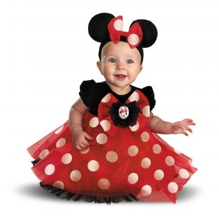 Disguise Disney Red Minnie Mouse Infant Costume 12 - 18