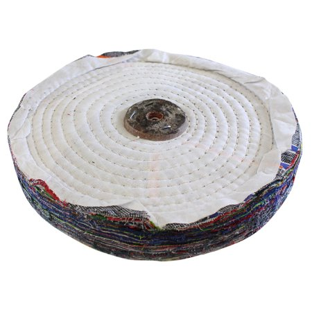Hawk Multi-colored Cloth Polishing Wheel - 10