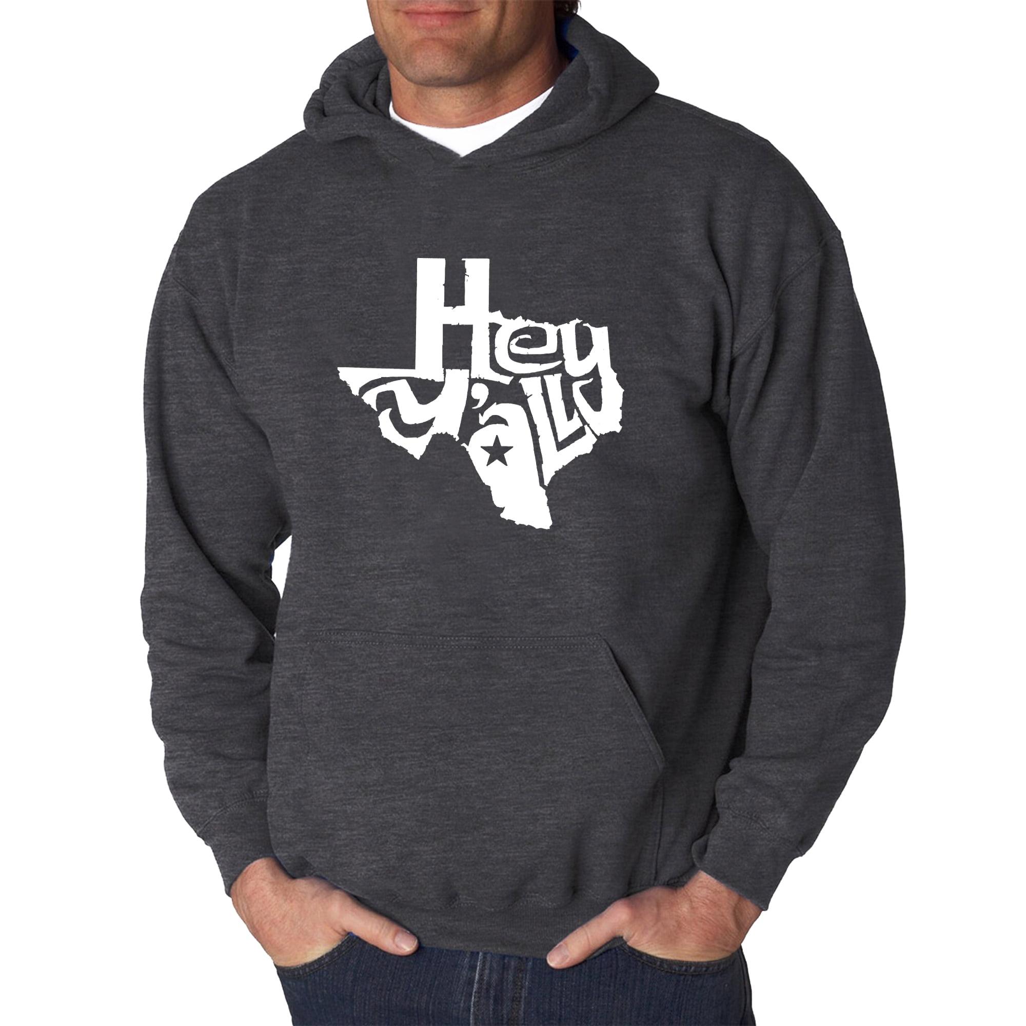 Hey Yall Men/'s Word Art Long Sleeve T-shirt