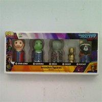 Bif Bang Pow! Guardians of the Galaxy Vol. 2 Pin Mate Wooden Figure Set