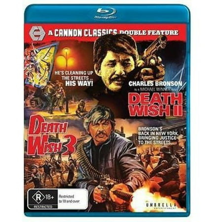 Death Wish 2 / Death Wish 3 (Blu-ray) - Halloween Iii Deaths