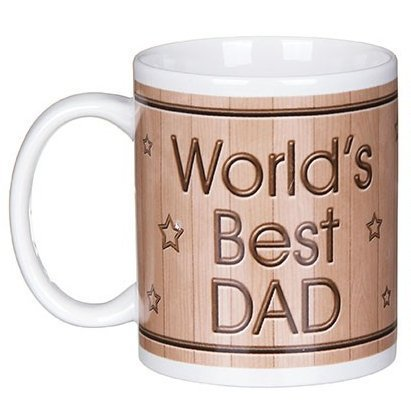 World's Best Dad Mug And Coaster Set