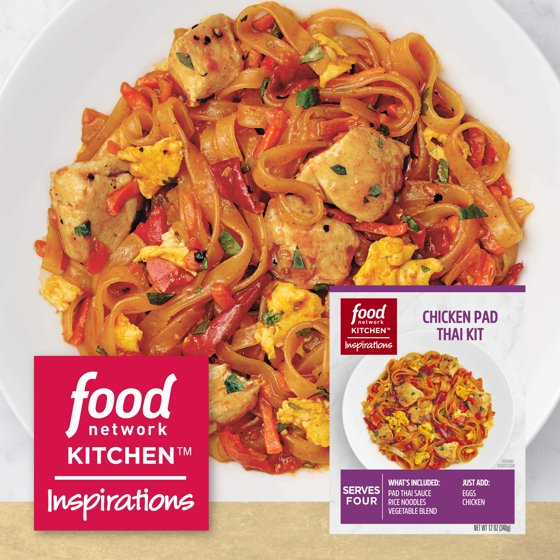 Food Network Kitchen Inspirations Chicken Pad Thai Meal Kit 12 Oz