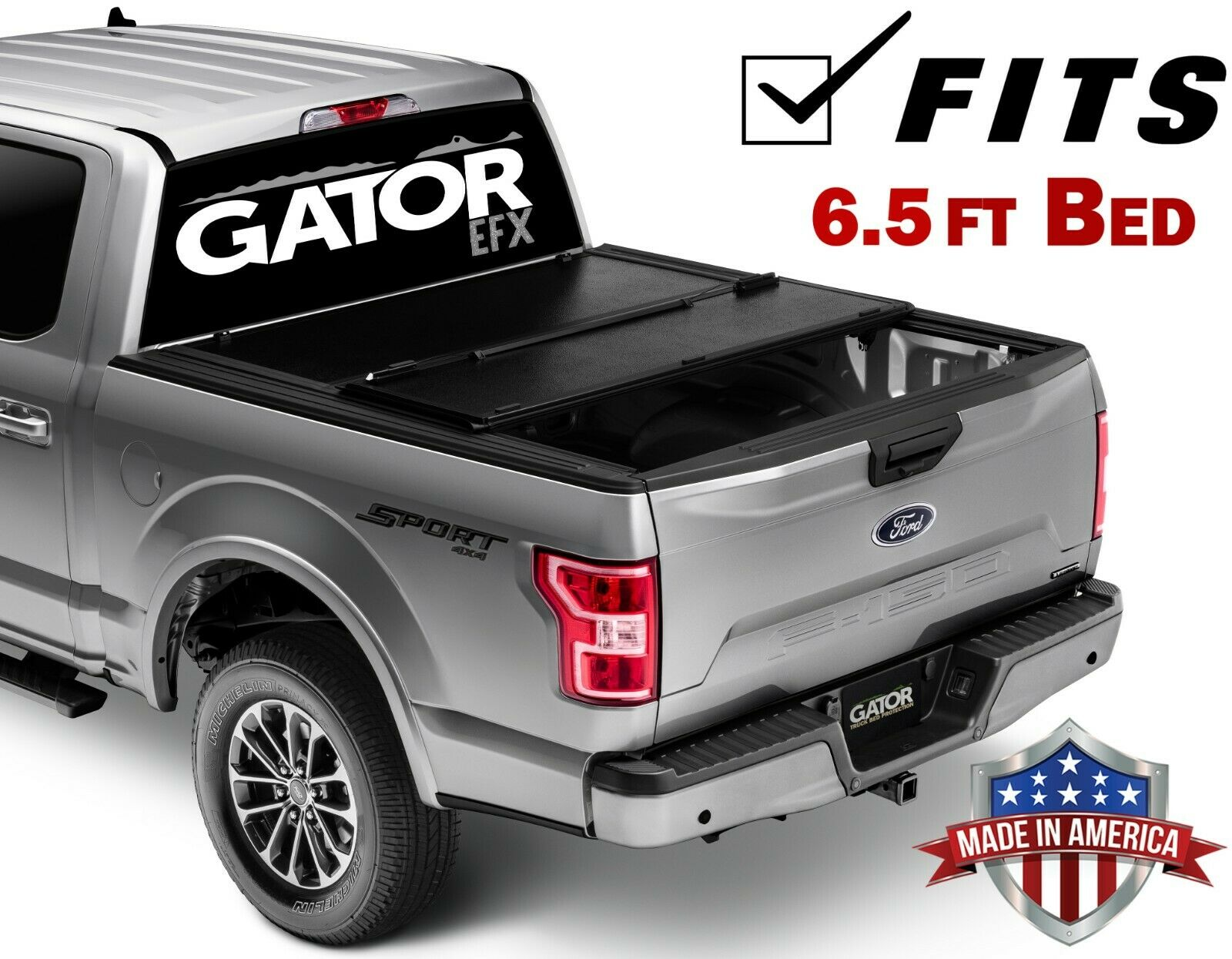 Gator Efx Hard Tri Fold Fits 2014 2018 Chevy Silverado Gmc Sierra 6 5 Ft Bed Only Tonneau Truck Bed Cover Made In The Usa Gc14019 Walmart Com Walmart Com