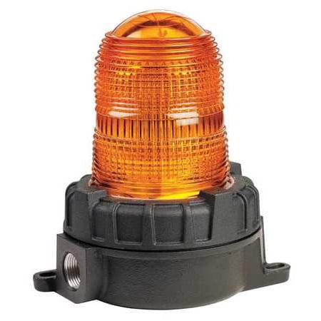 Federal Signal Strobe Lights (FEDERAL SIGNAL 151XST-S120A Warning Light, Strobe, Amber, 120VAC)