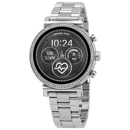 Michael Kors - Access Sofie Heart Rate Smartwatch 41mm Stainless Steel - Stainless Steel
