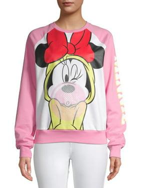 Minnie Mouse Juniors Bubblegum Sweatshirt