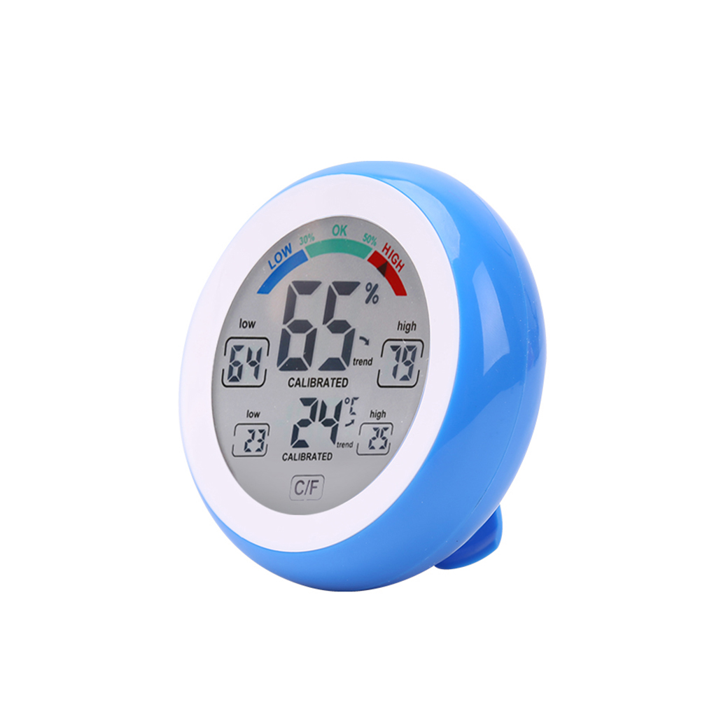 CJ3305F °C/°F Thermometer And Hygrometer Touch Key Can Display The Maximum And Minimum