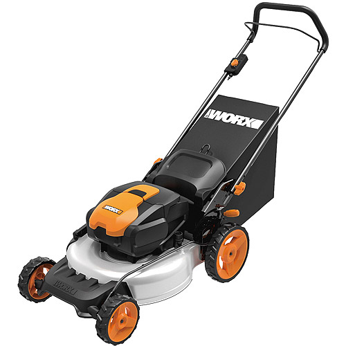 "Worx 19"" 56V Cordless Electric Mower"