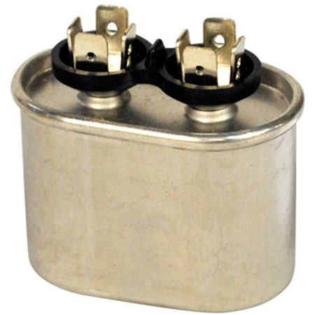 Motor Run Capacitor, 440 Volt, Oval, 5 (New Motor Run Capacitor)
