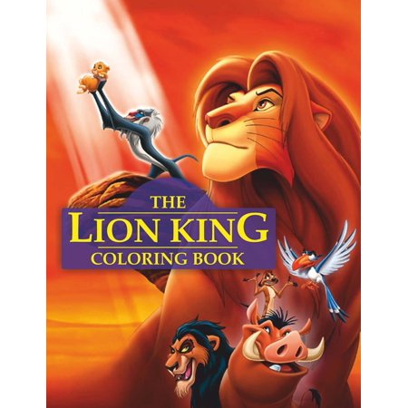 Lion King Coloring Book Great Activity Book For Kids Paperback