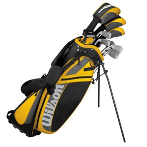 Wilson Sporting Goods Ultra Package Gold Set, Men's Right Handed