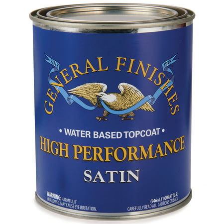 General Finishes, HP Polyurethane Satin, Quart