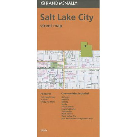 Rand mcnally salt lake city, utah street map: 9780528007965 (Topo Maps Utah)