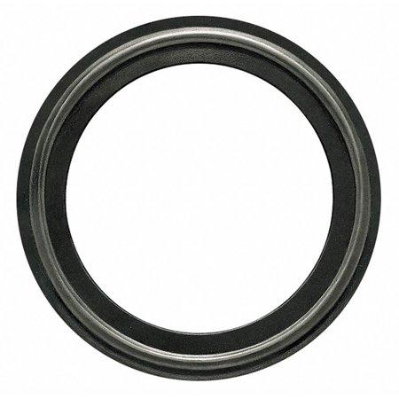 "Tri-Clamp Sanitary Gasket, 0.875"" Inside Dia., 1.984"" Outside Dia., FKM X-Rayable/Metal Detectable,"