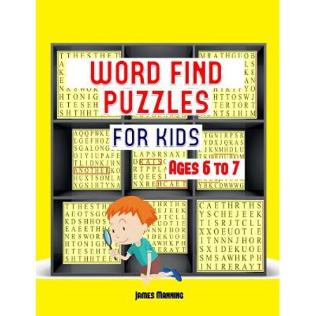 Word Find Puzzles : A Large Print Children's Word Find Puzzles Book with Word Search Puzzles for Third Grade Children: The Word Search Exercises in This Book Are Fully