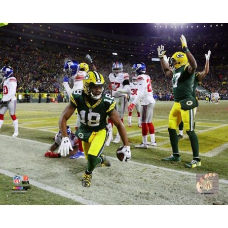 Randall Cobb Touchdwon 2016 NFC Wild Card Game Photo Print