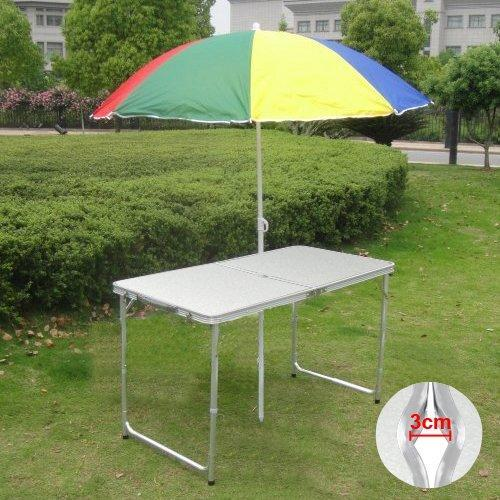 Click here to buy Portable Folding Table Plastic Picnic Party Dining Camp Table Indoor Outdoor.