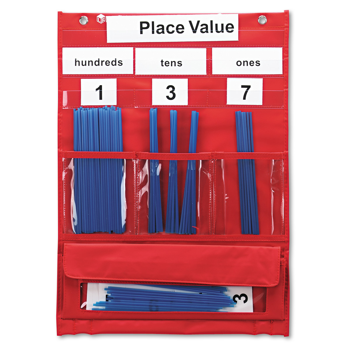 Learning Resources Counting And Place Value Pocket Chart With