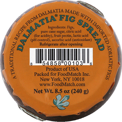 Dalmatia Fig Spread, 8.5 oz, (Pack of 12)