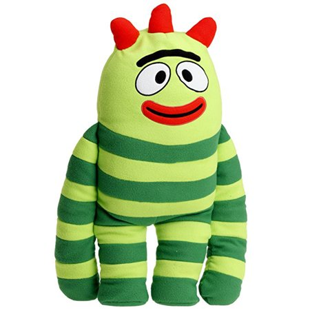 Yo Gabba Gabba Brobee Large Kids Cuddle Pillow Plush Toy (24in) - Yo Gabba Gabba Party City