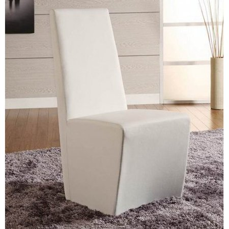 Creative Images International Paula Dining Chair   White   Set Of 2