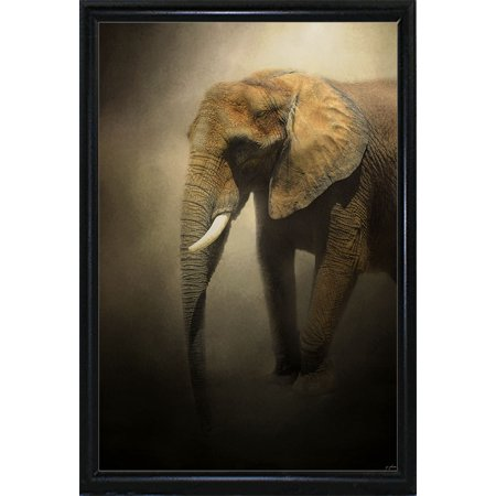 The Elephant Emerges Jaijoh140563 Print 20x1325 By Jai Johnson In