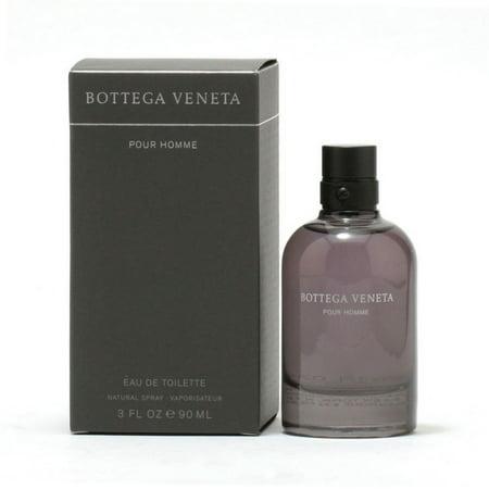 Bottega Veneta Pour Homme Eau De Toilette Spray for Men 3 oz Bottega Veneta Black Bag