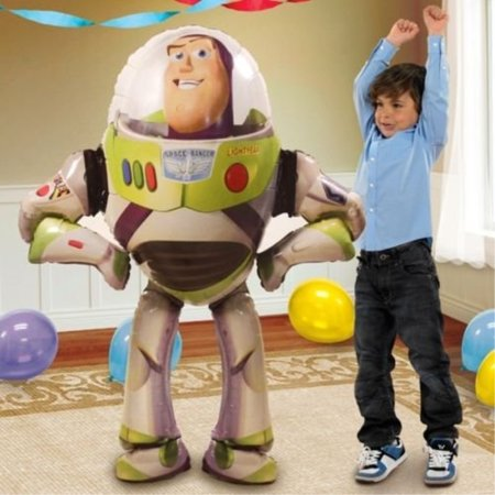 Disney Toy Story Birthday Party Balloon 53 Inches Foil Balloon Air Walker by Nick's for $<!---->