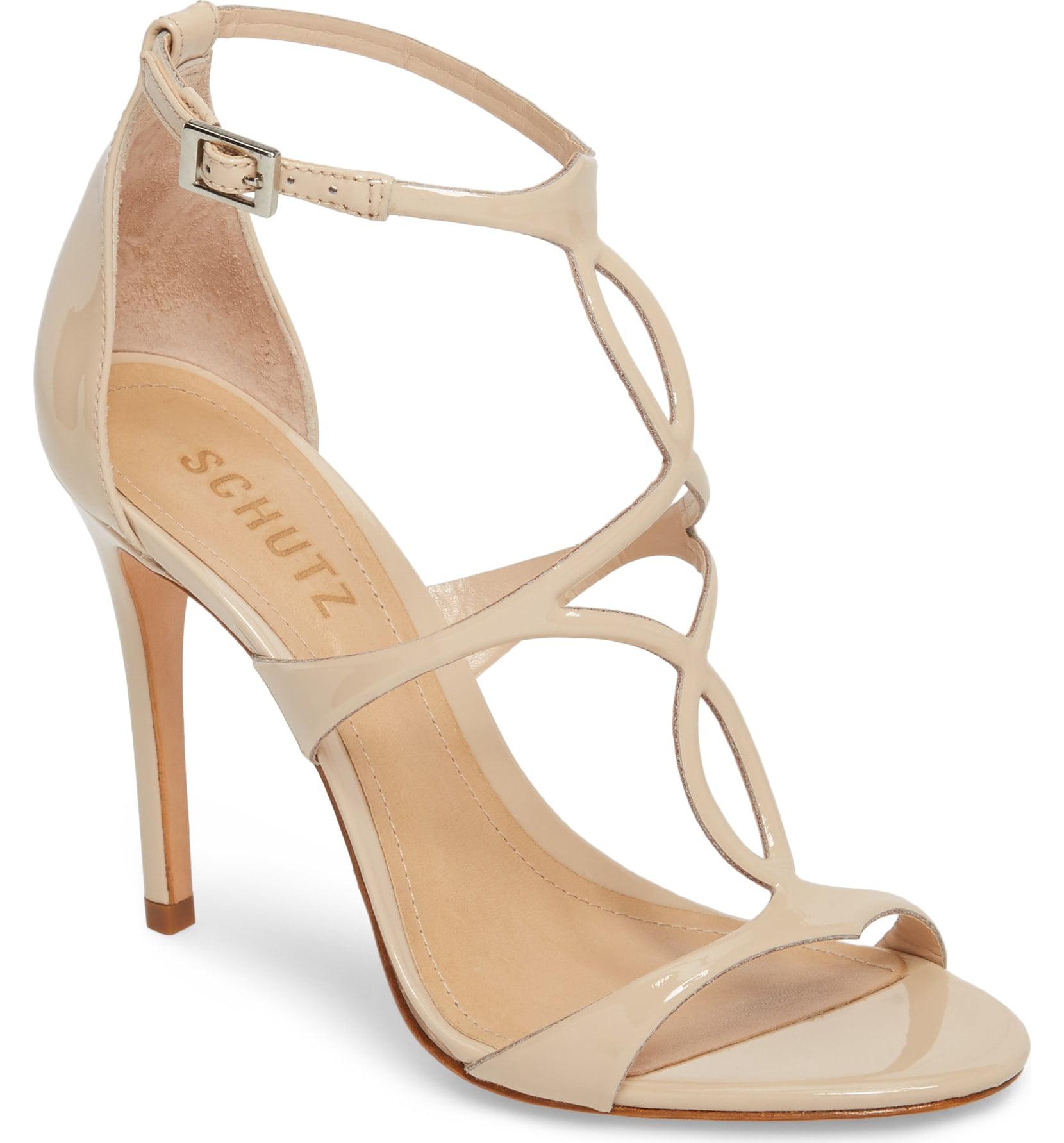 SCHUTZ Women/'s Emily Bright Red Block Heel Woven Suede Tassel Mule Pump Sandals