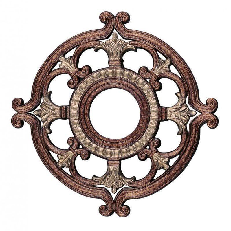 Livex Ceiling Medallion in Venetian Patina