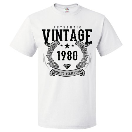 39th Birthday Gift For 39 Year Old 1980 Aged To Perfection T Shirt Gift