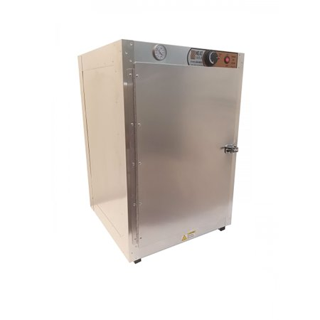 HeatMax Commercial Food Warmer Aluminum Countertop 19x19x29 Hot Box Cabinet Top Patio Cabinet