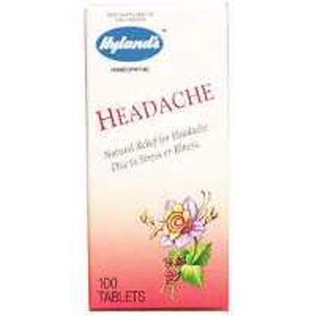 Headache Tablets Hylands 100 Tabs Walmart Com