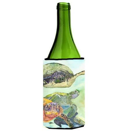 Turtle Loggerhead Wine bottle sleeve Hugger 24 oz