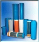 "Aries (AF-10-4210-BB) 10""x4.5"" Big Blue Calcor pH Neutralization w/ Coconut Shell GAC Filter"