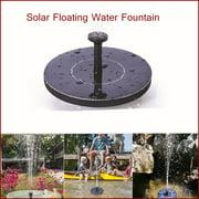 """Mini Solar Fountain Solar Panel Floating Water Fountain Pump Kit for Bird Bath Fish Tank Small Pond Pool"""