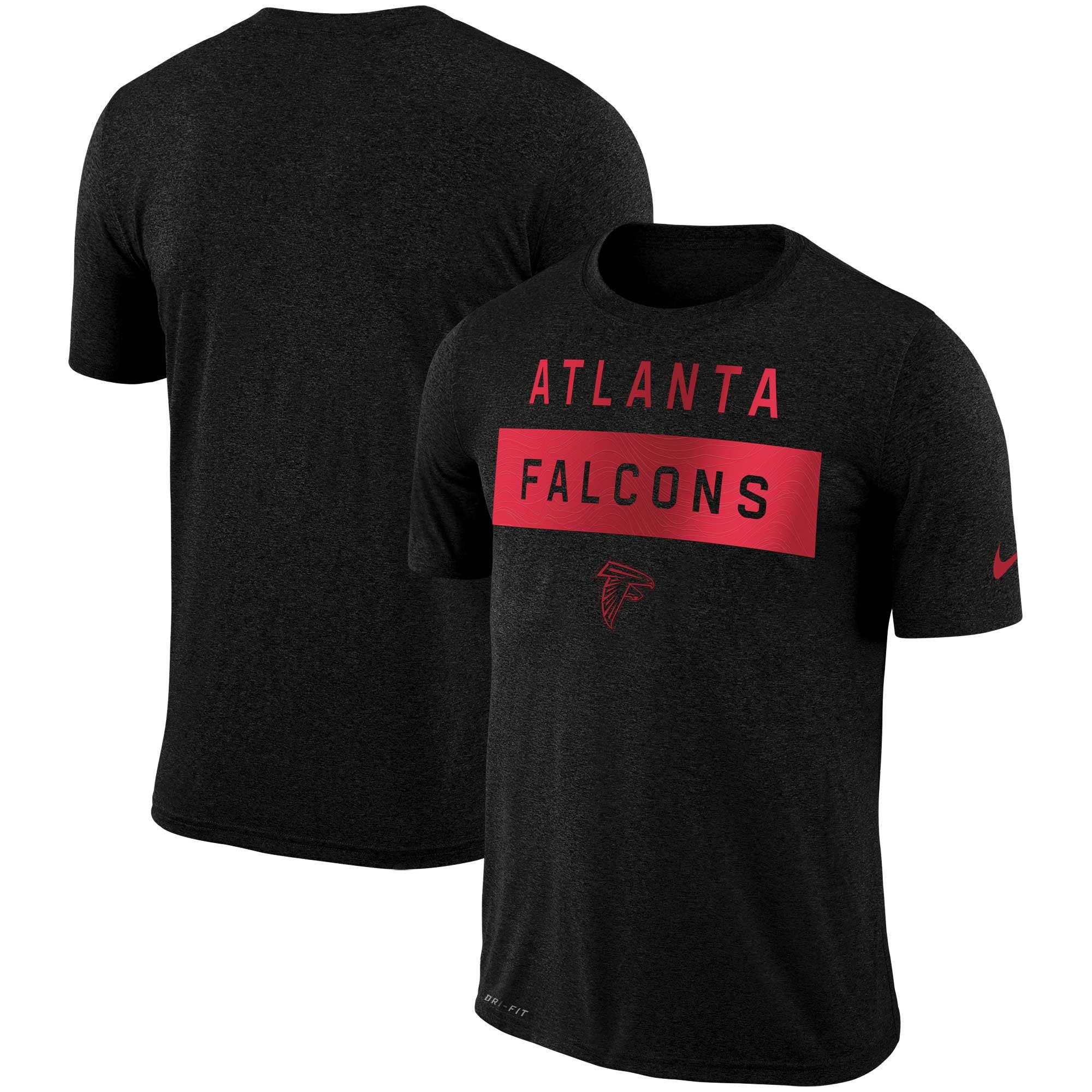 Atlanta Falcons Nike Sideline Legend Lift Performance T-Shirt - Black