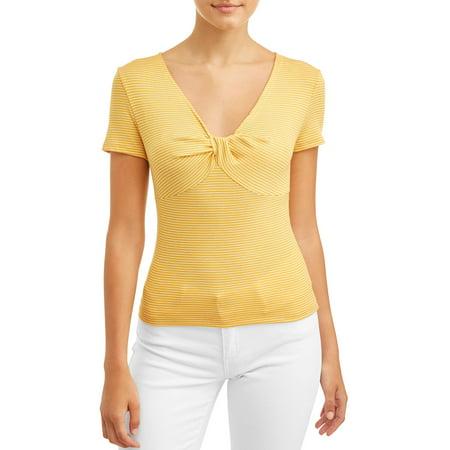 Love Sadie Women's Stripe T-Shirt Womens Team Love T-shirt