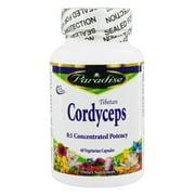 Paradise Herbs - Tibetan Cordyceps - 60 Vegetarian Capsules