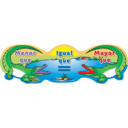 Greater And Less Than Alligators Banner - - Banner Stands 4 Less