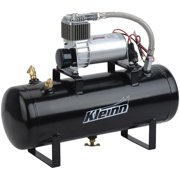 Kleinn Air Horns 7270 All-In-One Onboard Air System; 130; 130 PSI; 15 Percent Duty Cycle; Prewired And Plumbed Air Compressor And Tank Combo System;