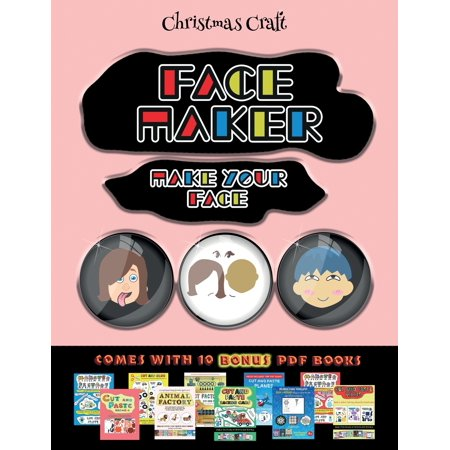Christmas Craft (face Maker - Cut And Paste) ()