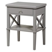 Comfort Pointe Marta Nightstand in Gray
