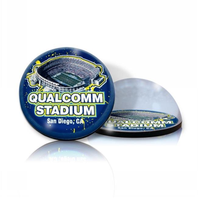 Paragon Innovations Company QualcommMAGStadium NFL Qualcomm Stadium Crystal Magnet